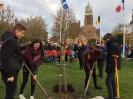 Schülergruppe in Bailleul Nov 2018 - Gedenken an Kriegsende 1918_3